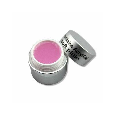 Porcelán-Akrilzselé - soft pink