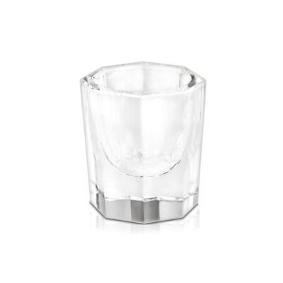 Üveg pohár porcelán folyadékhoz