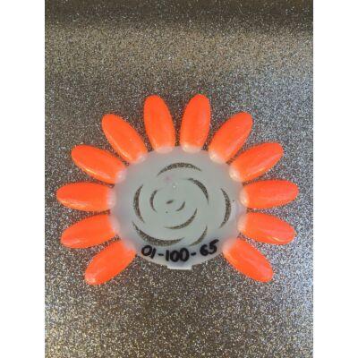 Professional Line - Neon csillogó Narancs színes zselé Nr.65