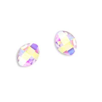 Gyémántstrassz - gyémánt alakú - 2 db