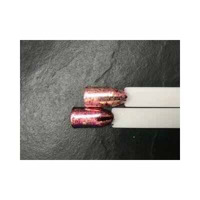 Multiflakes Pigmentpor - pink / red / gold