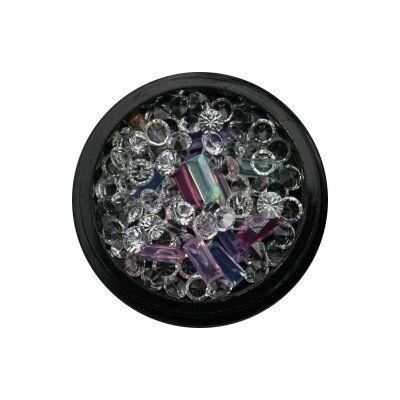 Nail Art Box - 3D - Opaque pasztell / kristály