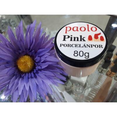 PAOLO Porcelánpor 80g - Pink