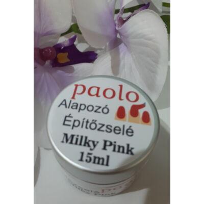 Paolo Alapozó Építőzselé - milky pink