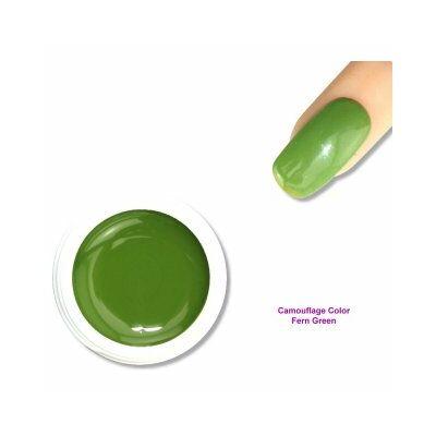 Camouflage Color - Lápos zöld - színes zselé Nr 2.