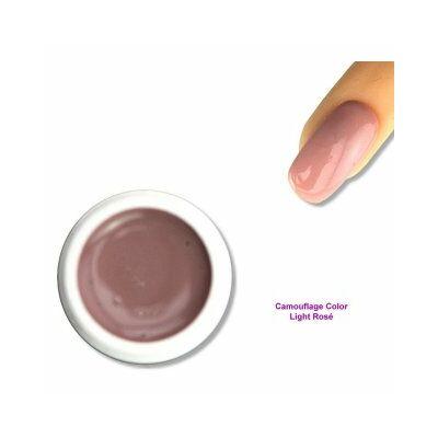 Camouflage Color - Világos rozé - színes zselé Nr. 5