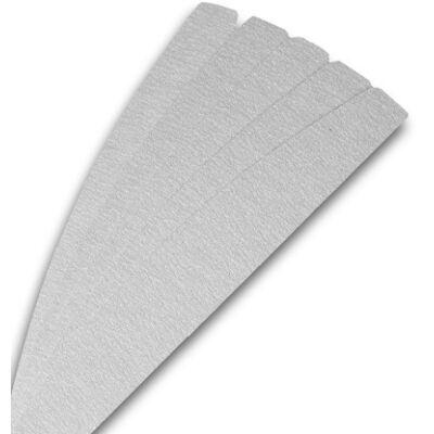 Cserélhető reszelőpapír félhold - 180 - szürke - 10 db