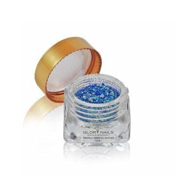 Pasztell csillámpor - kék