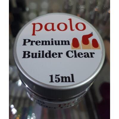 Paolo Építőzselé - Premium Builder Clear - 15ml
