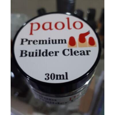 Paolo Építőzselé - Premium Builder Clear - 30ml