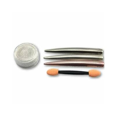 Csillámporos Pigmentpor - ezüst