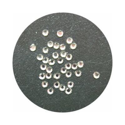 Swarovski Mini Kristályok - SS3 / 50 db - fekete gyémánt