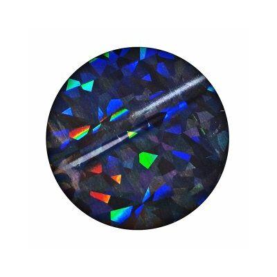 Transzferfólia - fekete/hologram